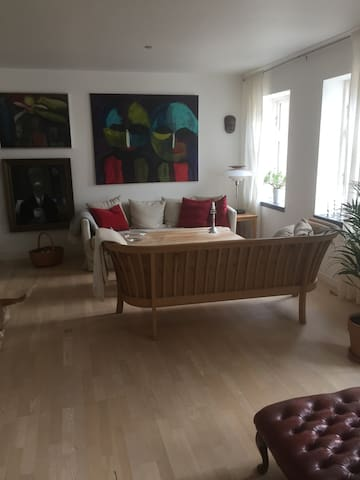 I hjertet af Rudkøbing by - Rudkøbing - Lägenhet