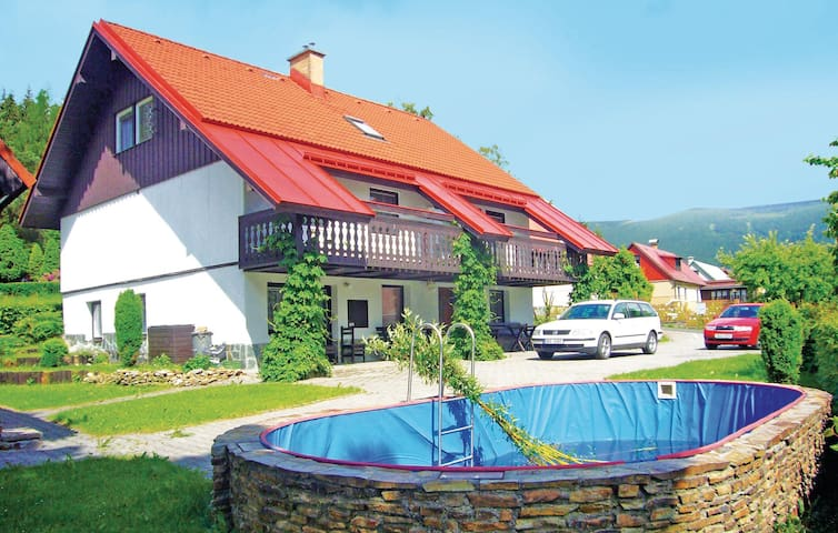 Holiday apartment with 1 bedroom on 48 m² in Rokytnice N. Jizerou