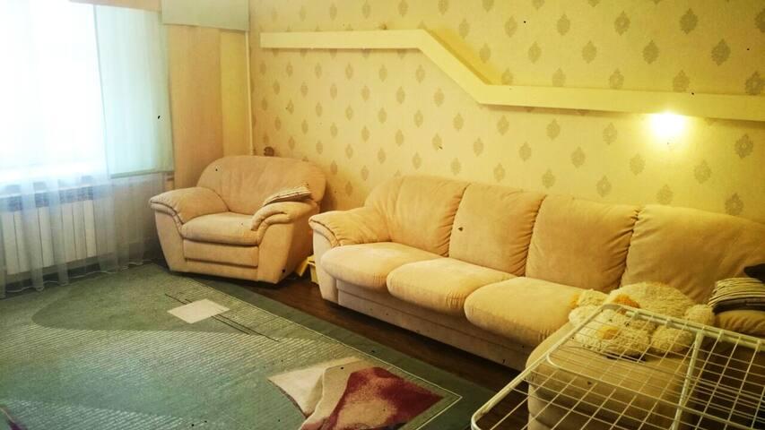3 комнатная квартира в центре Казани
