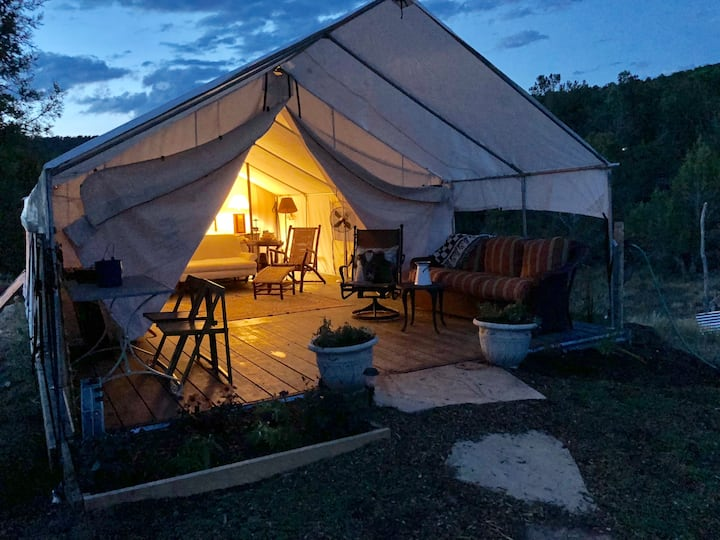 "Safari tent #1 in ""23 best Glamping Spots in U.S"""