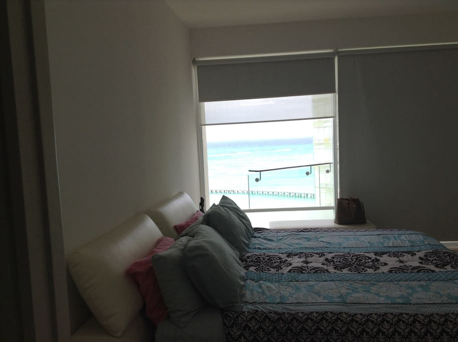 Master bedroom room ocean view