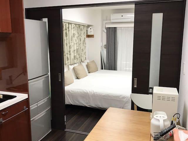 Cozy charming room/NagaMeguro station walk 10 mins - Meguro-ku - Daire