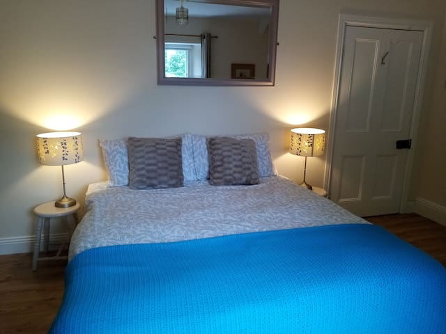 This pretty double room, with rural, Pennine views can be arranged as a twin on request.
