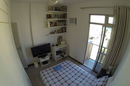 100m from Subway-Sugar Loaf View - Rio de Janeiro - Appartement