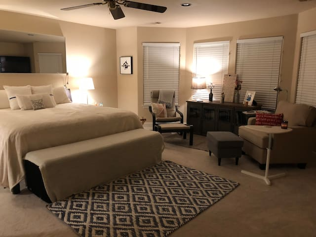 Extra Large Master Suite w/Luxurious Private Bath
