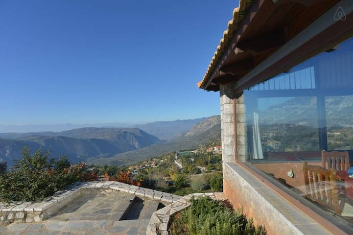 Tripio Lithari, mountain house in Arachova - Arachova - บ้าน