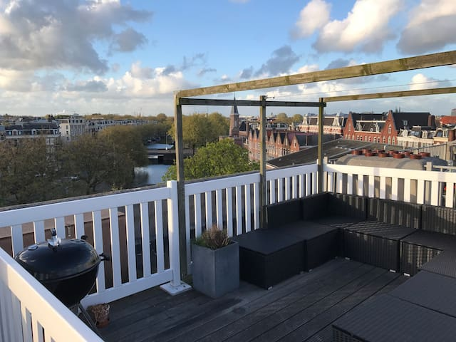 Stunning rooftop w/ 360 view, 2 bedroom flat - Amsterdam - Apartment