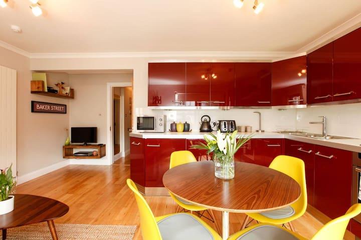 2 Bedroom London Garden Apartment