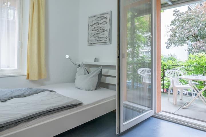 Felchen Gästezimmer mit Balkon, ruhig und zentral
