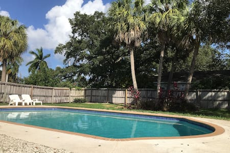 GREAT VACATION  HOME -HEART OF BOCA -PRIVATE POOL