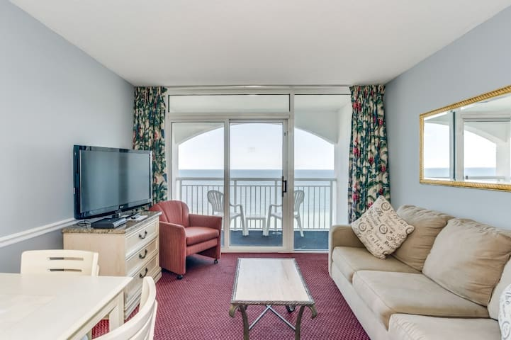 Oceanfront Penthouse at Camelot by the Sea