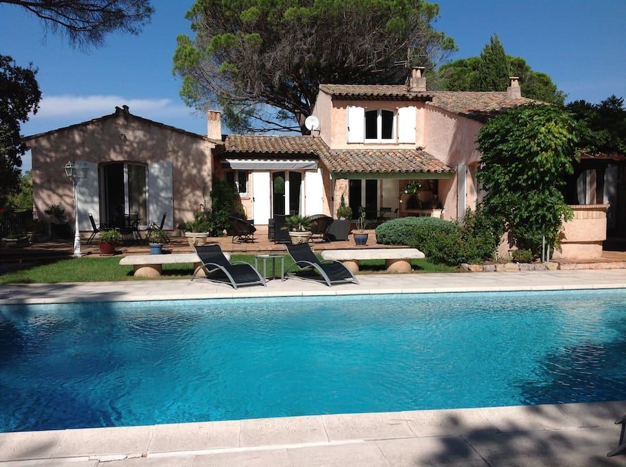 Chambre priv e dans villa avec piscine chambres d 39 h tes - Chambre d hote marseille avec piscine ...