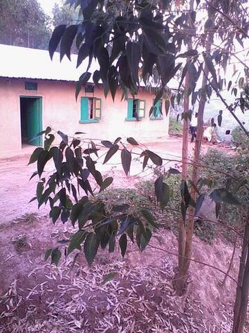 Anna's Local home at lake Bunyonyi