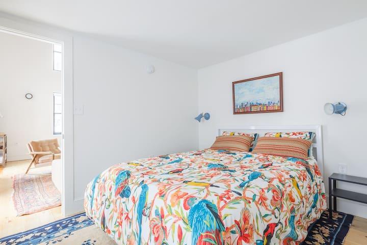 Beautiful bedroom with en-suite half bath - 2nd floor