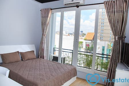 Nice apartment with balcony in D.3 - Ho Chi Minh City