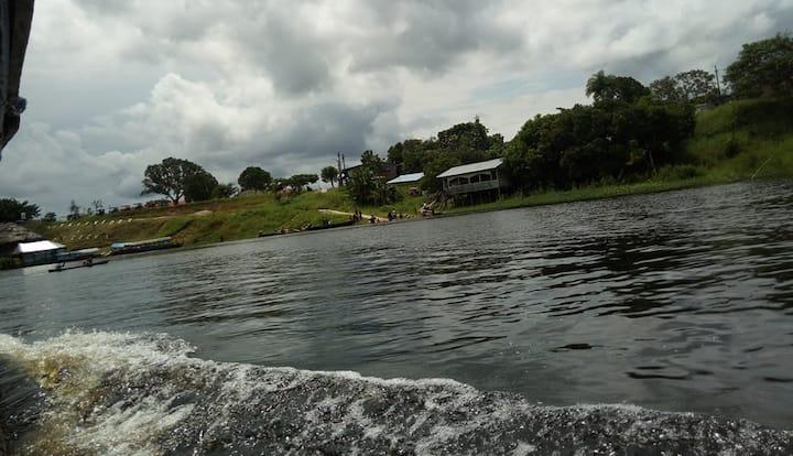 Casa de campo en la Amazonía + piscina