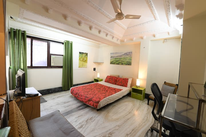 Entire floor of house,  quiet oasis in Bandra W