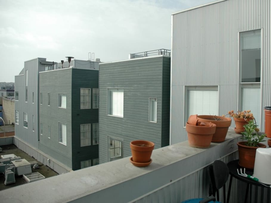 Contextural View from Terrace