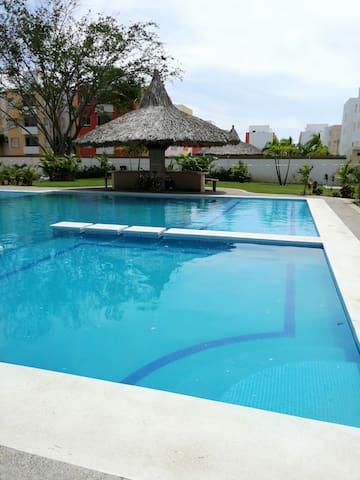 Acapulco Departamento con alberca