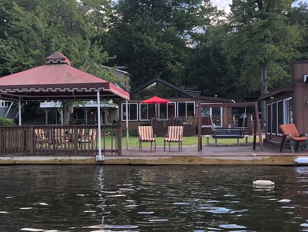 Lake Front Home On Beautiful Lake Harmony!