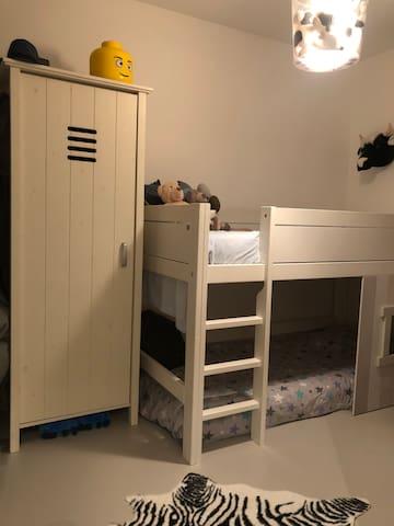4 bedroom (2 bunk beds) on second floor