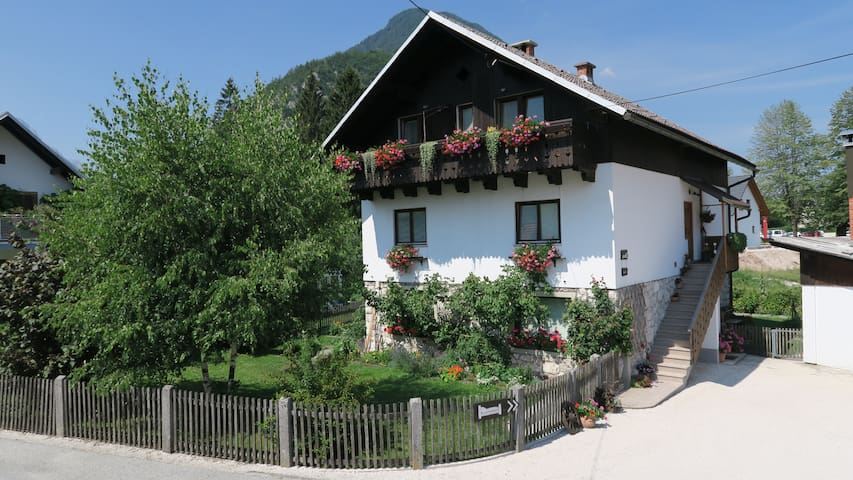 Apartment River and Mountain view - Mojstrana - Huoneisto