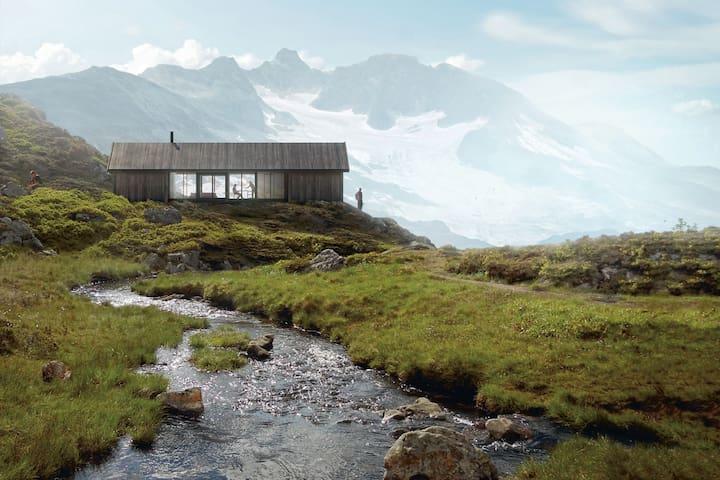 Ny moderne hytte Norefjells vestside, 12 p, 1.45 t - Eggedal
