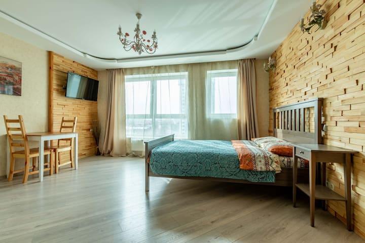 Апартаменты Dream House-Wood Look