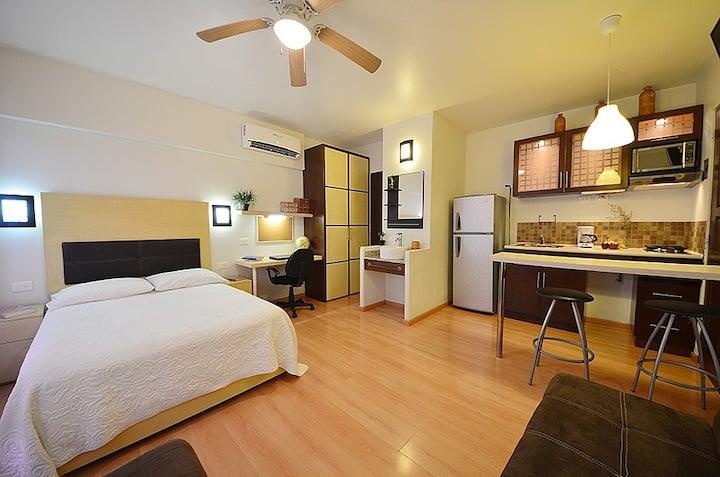 Loft equipado con servicios incluidos en Monterrey
