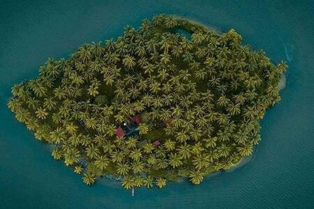 Kavvayi Gods own island campsite, kannur