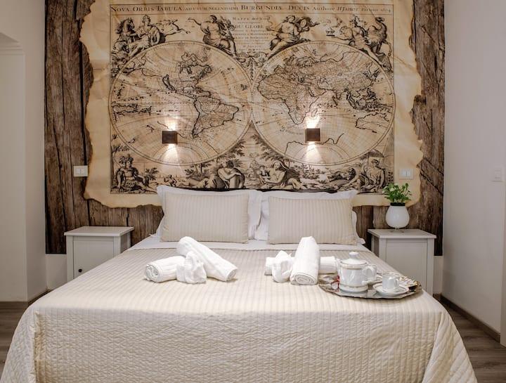 Venere Rooms (Quadrupla con camere separate)