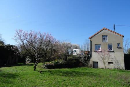 Maison de campagne au calme à Tigné (2-4 pers) - Tigné - Talo