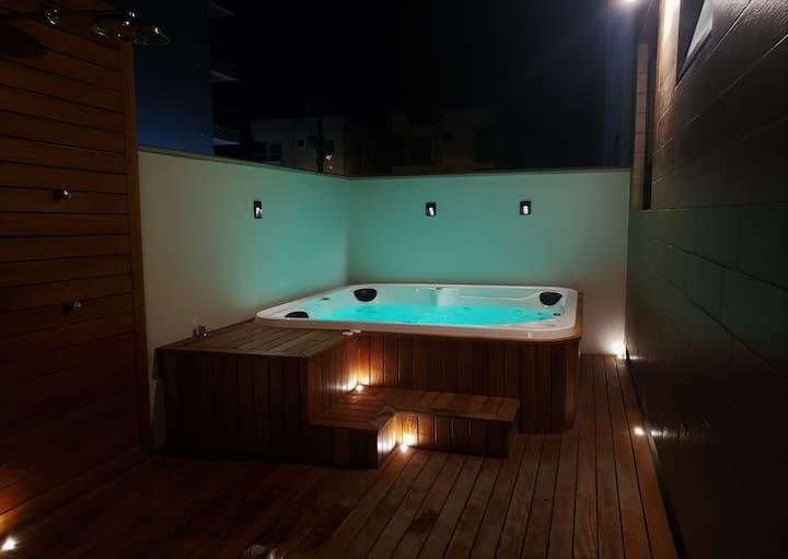 Apartamento Garden com Jacuzzi Privativa