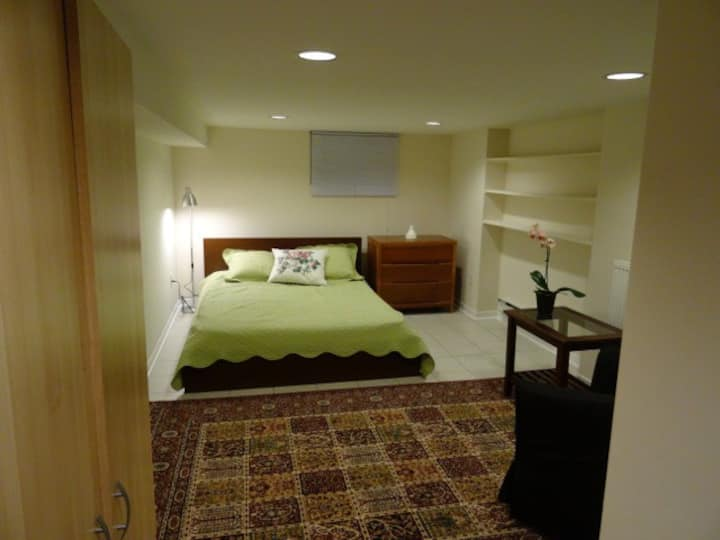 Clean and Quiet Apt. Close To Downtown TO