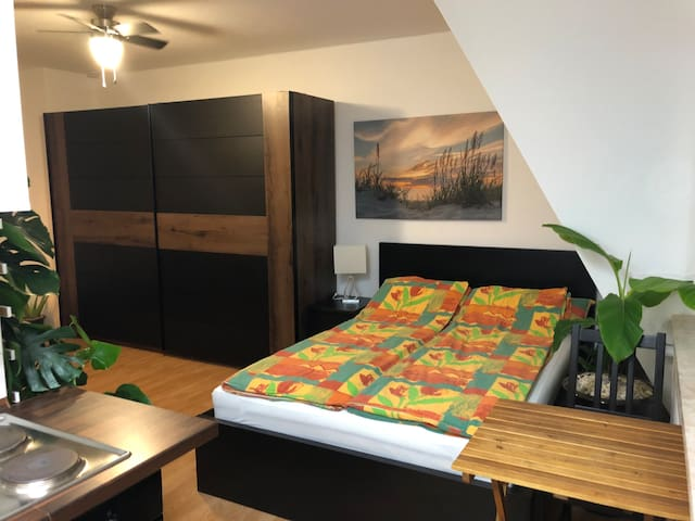 Ruhiges Studio-Apartment in zentraler Lage