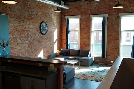 2 Bedroom Loft in Historic Downtown Elmore, Ohio