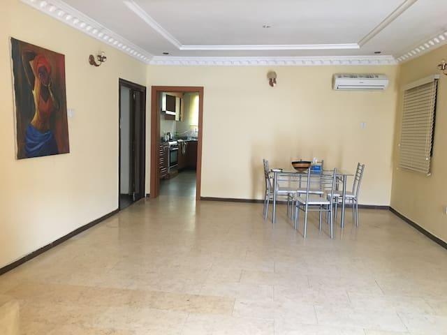 Private bedroom, Oniru Estate