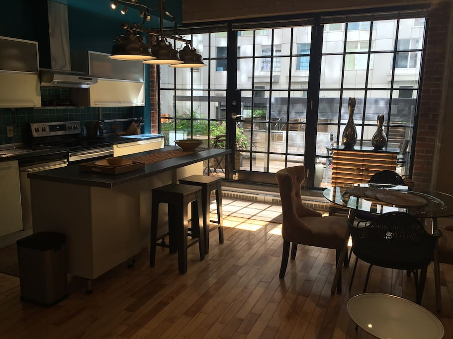 Spacious historic loft in downtown montreal appartements - Appartement a louer vieux port montreal ...