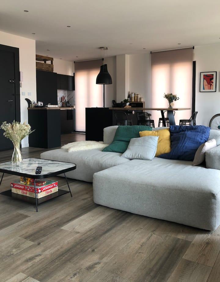 Appartement plein sud avec vue canigou plus garage