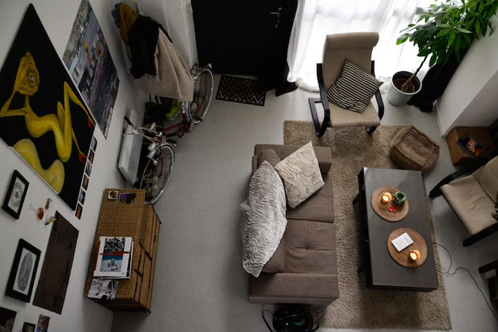 Loft cosy 15min de Lille + parking
