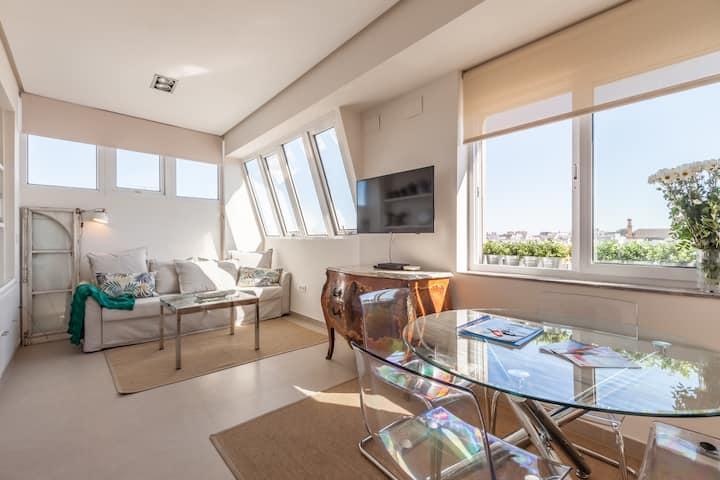 Brand New Bright 2br Apartment, downtown Sevilla