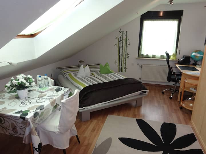 Apartment,best equipped+comfortable-near FRA+MESSE