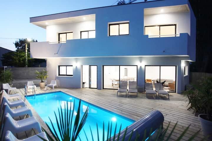 Superbe Villa Architecte 200 m Plage