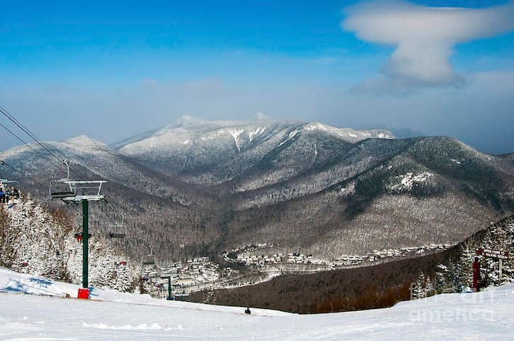 Pollard Brook Condo for the Holidays in the White Mountains of New Hampshire!