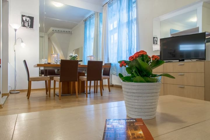 One bedroom apartment-spa bath-on the old town SQ - Tallinn - Flat