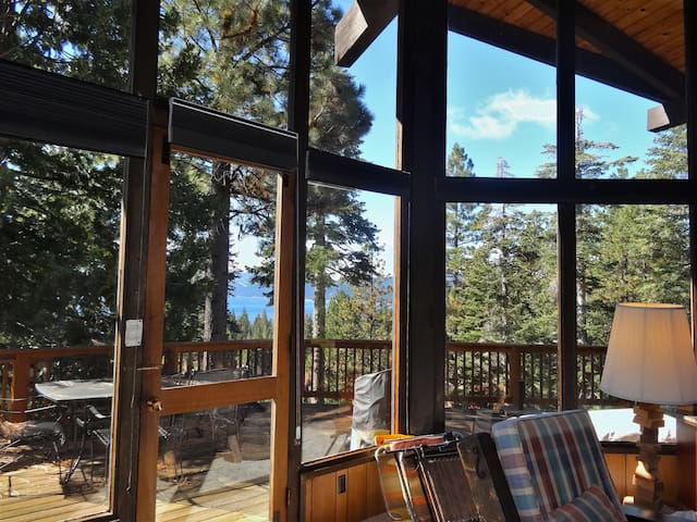 Lakeview in Dollar Point 4bd/2ba - Tahoe City - Ev