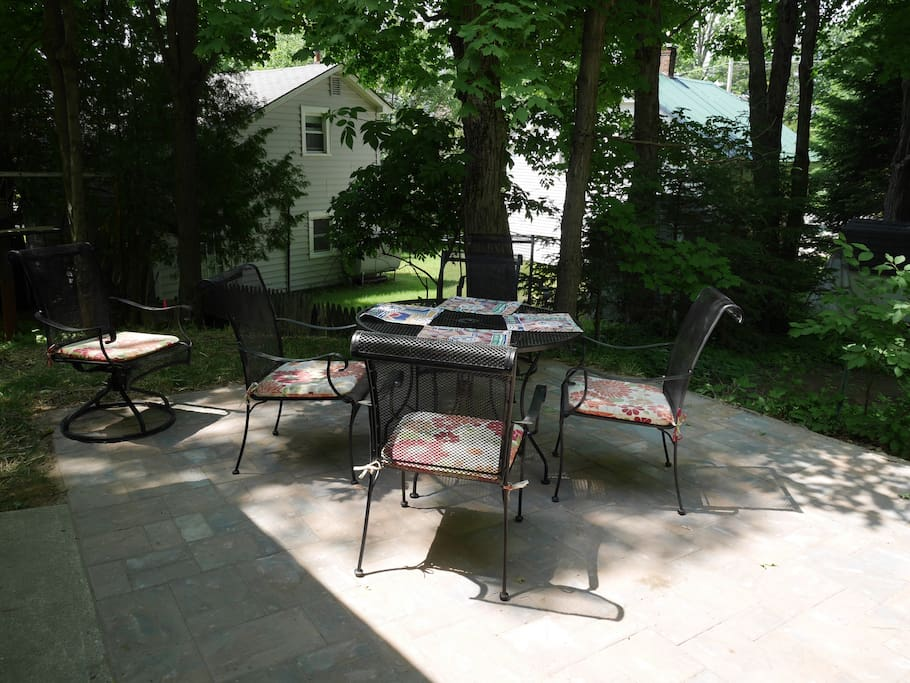 Relax on our patio