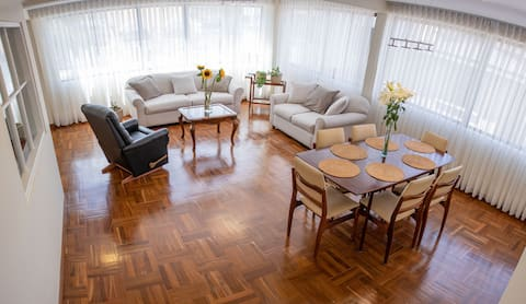 Spacious, sunny and newly renewed apartment