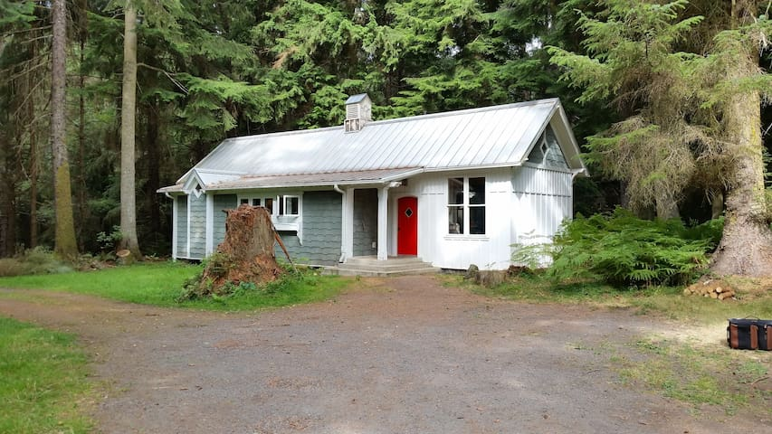 Total Privacy on 25 Acres of Orcas Island Woodland - Olga - Casa