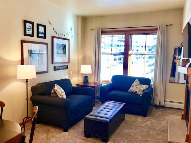 Plenty of living space with new furniture and updated decor
